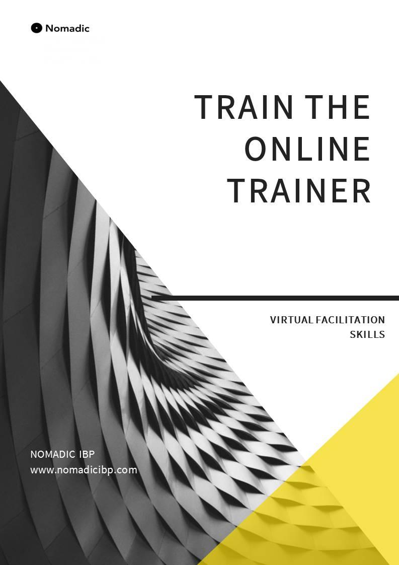 Train the Online Trainer brochure 2020