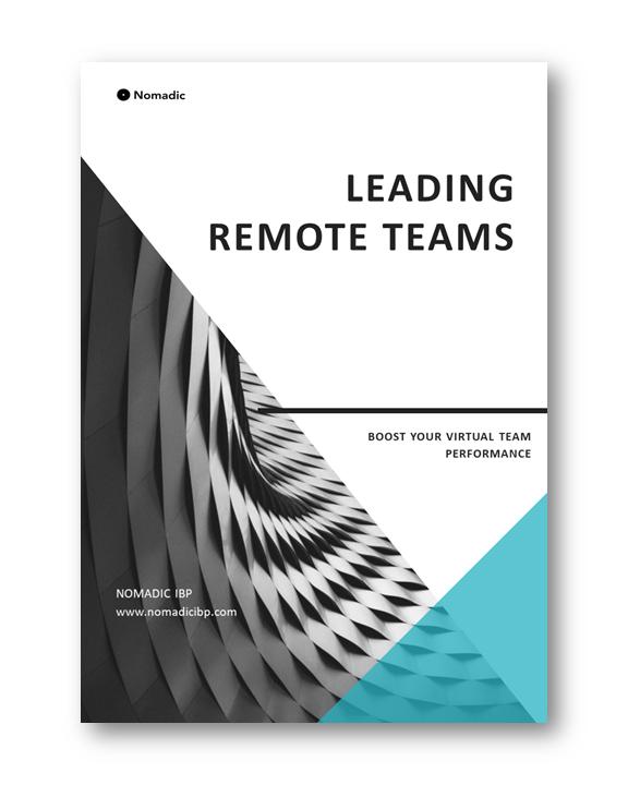 Leading Remote Teams | Nomadic IBP