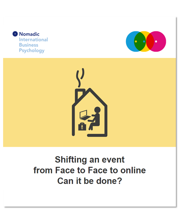 Shifting an Event from Face to Face to Online | NomadicIBP