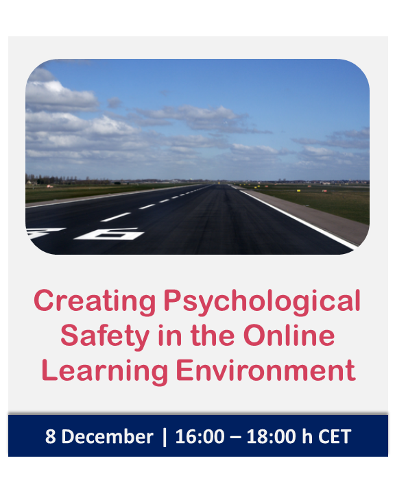 Masterclass | Creating Psychological Safety in the Online Learning Environment | Nomadic IBP