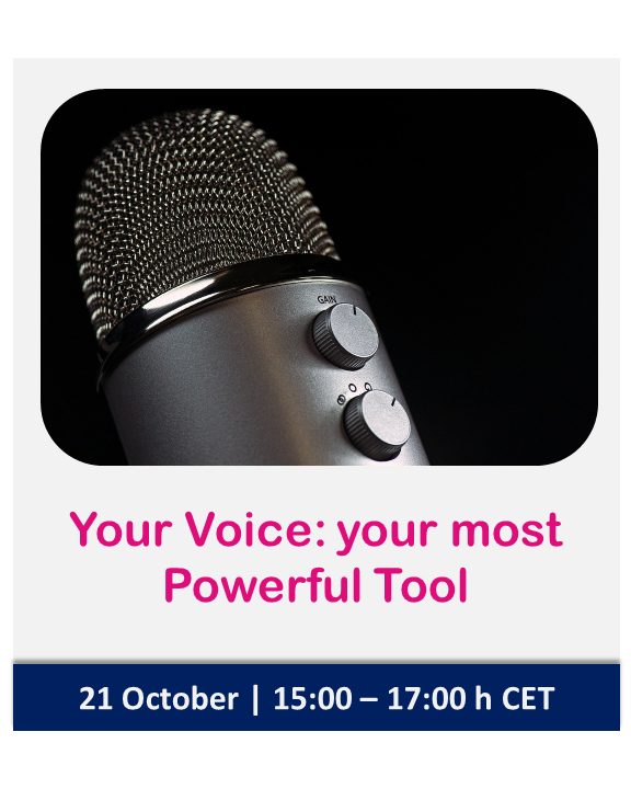 Your Voice: your most Powerful Tool as a Facilitator | Nomadic IBP