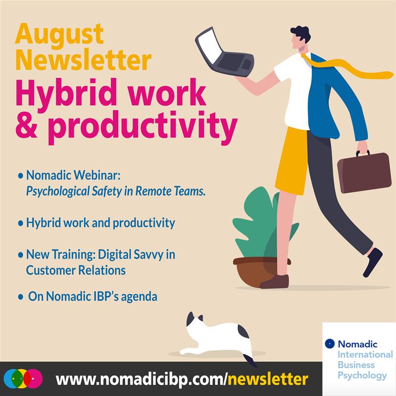 August Newsletter Nomadic IBP